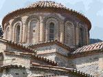 Kirchenkuppel in Mystras bei Neu-Sparta, Peleponnes