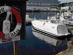 Autonomes Rettungsboot im Hafen von Trondheim