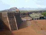 Das Fort in Ciudade Velha, Santiago, Kapverden