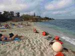 Am Strand von Hernossissos, Kreta, Griechenland