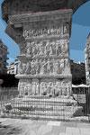 Spätrömischer Galeriusbogen  in Thessaloniki, Details