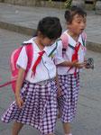 Schulkinder in Dali, China