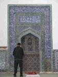 Betender in Samarkand,Usbekistan
