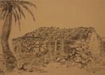 Verfallenes Bauernhaus in Alojera, La Gomera