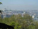 Blick vom Topkapi Palast, Istanbul, Türkei