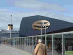 Solarhaus am Hafen von Trondheim, Norwegen