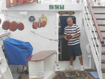 Seilspezialist auf dem Segler Star Clipper