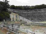 Das antike Theater von Epidaurus, Nordpeleponnes