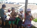 Schulkinder in Balchik, Bulgarien