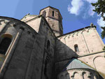 Die romanische Kirche Peter und Paul in Rosheim, Elsaß