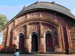Terrakottatempel Char Bangla in Baranagar, Indien