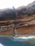 Lavafelsstruktur auf Porto Santo