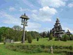 Russisch-orthodoxe Kirche auf dem Gelände des Mühlenmuseums in Gifhorn