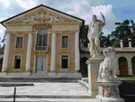 Palladiovilla Barbaro in Venetien, Italien