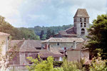 Schloss in der Dordogne, Frankreich