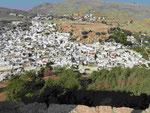 Blick auf Lindos, Rhodos, Griechenland