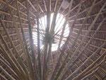 Dachstruktur einer Hotelrezeption in Costa  Rica