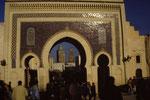 Stadttor von Meknes, Marokko