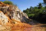Geologische Formationen in Südvietnam