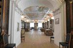 Barocke Bibliothek im Kloster Kremsmünster, Oberösterreich