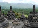 Borobudur Tempel/Java