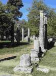 Säulen des Gymnasion in Olympia, Perleponnes
