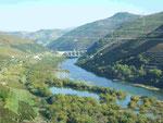Blick auf den Douro, Portugal