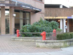 Kanada, Vancouver-Hydranten, vor dem Firefighter Club in Burnaby, B.C., Foto Stenschke