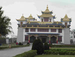 Tempel und Gästehaus von Ladakh in Bodhgaya