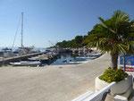 Im Hafen von Brela, Markarska Riviera, Kroatien