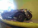 Oldtimer im Riverside Verkehrsmuseum in Glasgow, Schottland