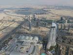 Blick vom Burj Khalifa, Dubai, V.A.R