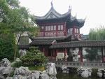 Historischer Garten in Shanghai, V.R. China