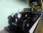 Rolls Royce Silver Shadow II, Oldtimer im Riverside Verkehrsmuseum in Glasgow, Schottland