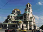 Kathedrale in Sofia, Bulgarien