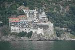 Kloster am Berg Athos, Chalkidiki, in Nordgriechenland