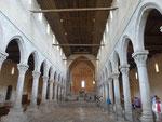Bodenmosaike in der Kirche von Aquilea, Italien