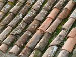 Dachziegeln in der Provence