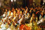 In Myanmar wird der Buddha verehrt