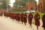 Mönche in Bagan, Myanmar (Burma)