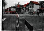 S-Bahnhof Lichtenrade 2019 Zweifarbsiebdruck