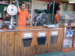 Kaffeeverkäufer in San José, Costa Rica