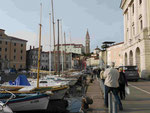 Piran, slowenische Adria