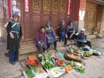 Bäuerinnen in Yunnan, China