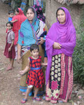 Familie in einer westbengalischen Kleinstadt
