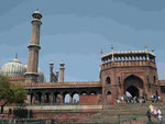 Jama Masjid, Delhi, Indien