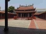 Alter Konfuzius-Tempel in Tainan, Taiwan