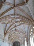 Spätgotische Gewölbestrukturen im Hieronymitenkloster, Lissabon