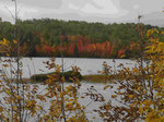 Im Algonquin Provincial Park mit Indian Summer, Ontario, Kanada