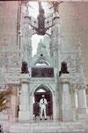 Eine der beiden Grabstätten des Kolumbus in Santo Domingo, Dom, Rep.